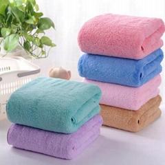 Microfiber Coral Fleece Towels