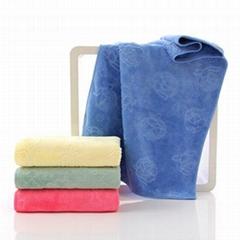 Microfiber Carved Design Towels
