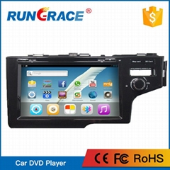For Honda Jazz 9 inch Android  with Bluetooth WIFI GPS Car radio