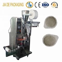 coffee pod packing machine/round shaped bag tea packing machine