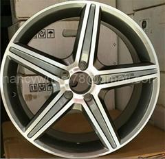 The replica alloy wheel