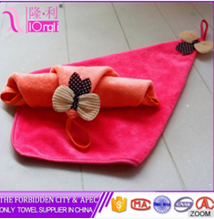 hot sale Manufacture customize microfiber cleaning hand towels
