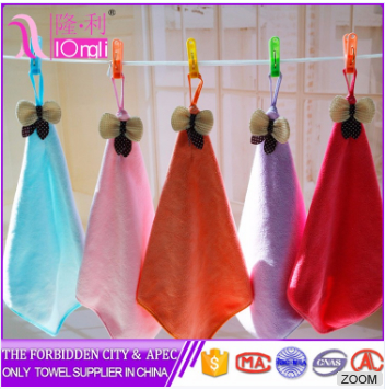 hot sale Manufacture customize microfiber cleaning hand towels 2