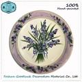 Hand Drawn White Wholesale Small Restaurant Ceramic Plates Dishes 1