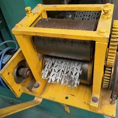 增茂供应不锈钢刀片刺绳网机