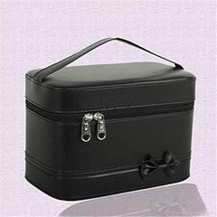 cosmetics case PU beauty case makeup storage box jewelry organizer women vanity