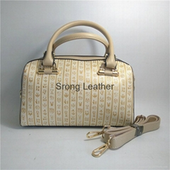 Chinese Oracle embossing women handbag messenger bag briefcase PU woman commuter