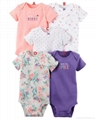 Short Sleeved Romper Suit