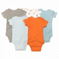 Short sleeved baby romper suits 2