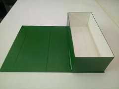 Custom rectangular wine glasses paper cardboard container home box
