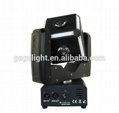 6X12W RGBW 4 in 1 of 6 Side LED Cube Ball Moving Head LED Beam Stage Light