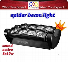 Promotion New Stage Light LED Spider Beam Moving Head Light