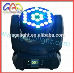 Professional Stage Light 36X3w LED Moving Head Beam Light