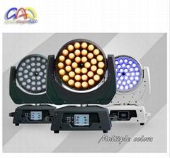 36PCS 18W 6in1 RGBWA UV Sharpy 36PCS LED Beam Moving Head Lighting