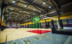 室内篮球羽毛球场照明灯 篮球馆专用led灯