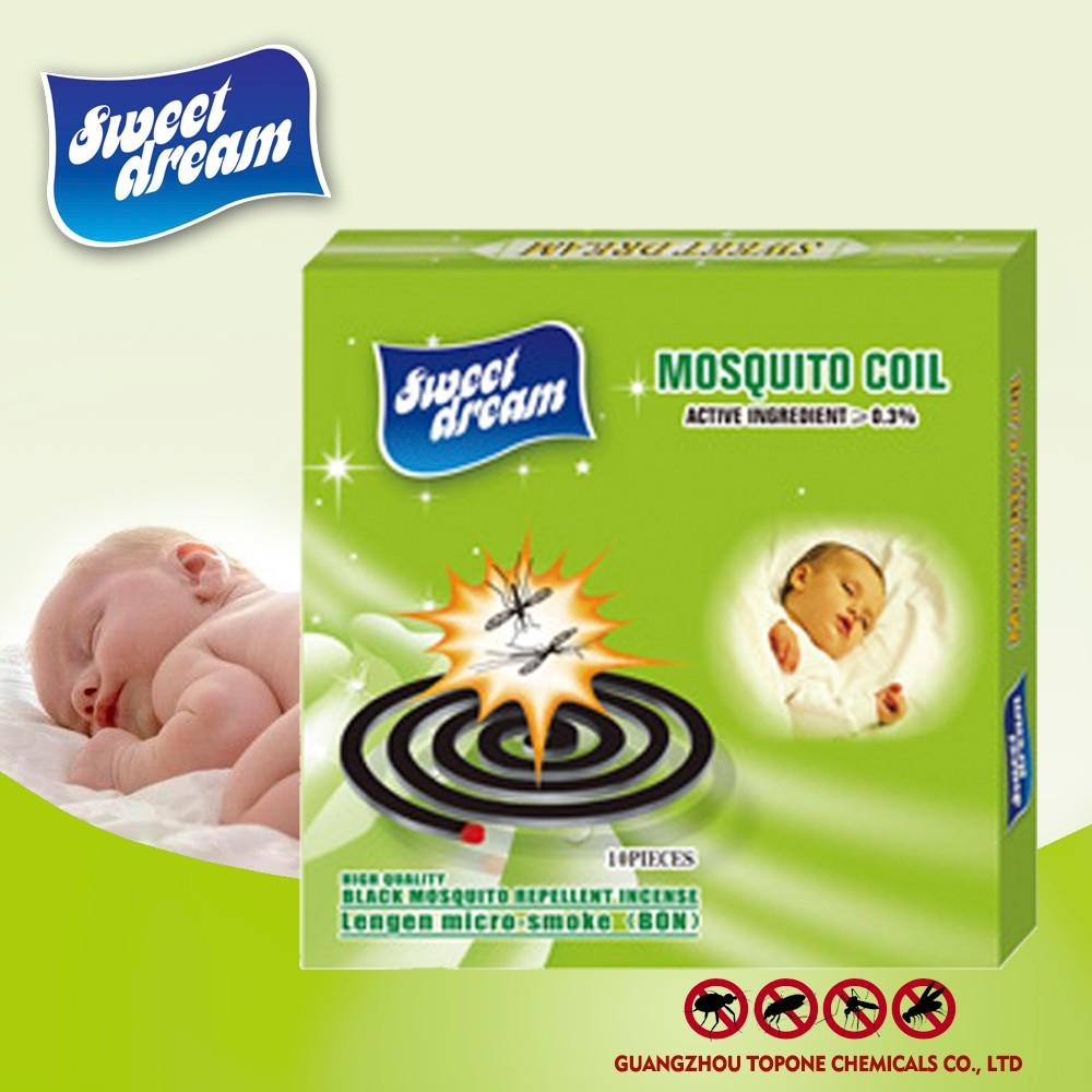 Sweet dream black mosquito coil for chemical formula mosquito coil 1