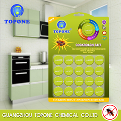 Best selling product Topone Brand Powerful Cockroach Killer Stickers