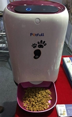 Newest Remote Control Wi-Fi Dog and Cat Feeder Smart Automatic App Pet Feeder