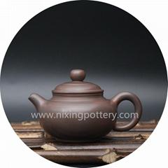 Miniature Antique Pot Qinzhou Nixing Pottery Pure Handmade Nixing Pot 100cc Smal