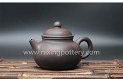 Pure Handmade Ceramic Family Kungfu Tea Pot Chinese Qinzhou Nixing Pottery Clay