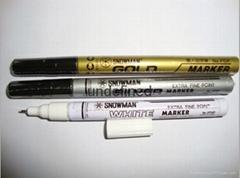 雪人油漆笔-雪人记号笔