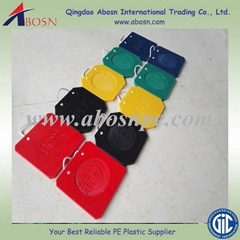 uhmwpe plastic crane outrigger pad
