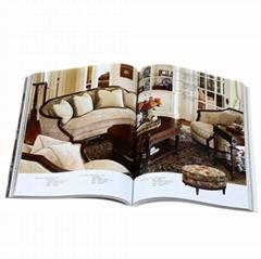Perfect binding cheap custom high quality catalog printing
