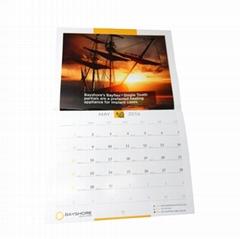 Wholesale well designed custom cheap calendar printing for advertising