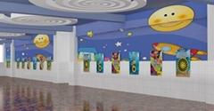 壁挂式科普互動展品
