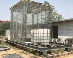NLJY-10-05移動式人工模擬降雨器系統