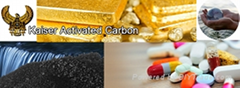 COCONUT ACTIVATED CARBON FOR GOLD RECOVERY