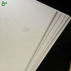 Recycled mixed pulp 300gsm 400gsm 500gsm grey board duplex board back