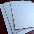 Recycled mixed pulp 300gsm 400gsm 500gsm grey board duplex board back 2