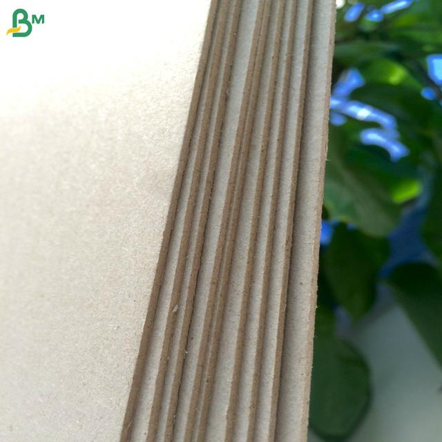 Low price and good quality paper binding cover carton gris strawboard paper 1