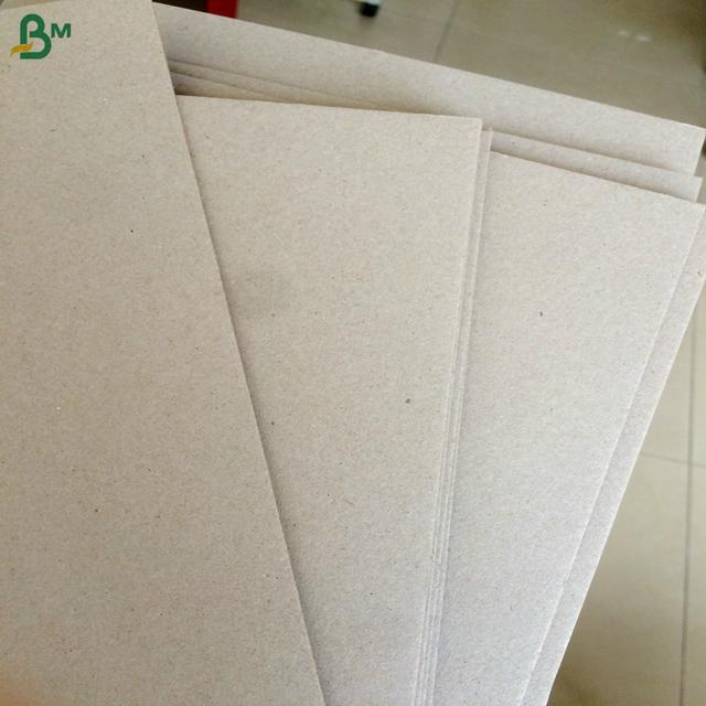 Low price and good quality paper binding cover carton gris strawboard paper 3