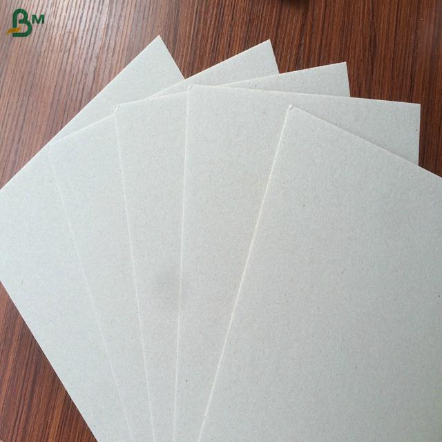 Low price and good quality paper binding cover carton gris strawboard paper 4