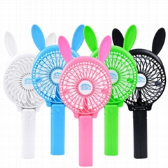 3 in 1 multifunctional hand cartoon mini air cooler portable fan