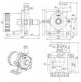 无刷直流循环泵 DC50K 扬