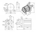 水暖床垫水泵 DC40H 扬程11M 2