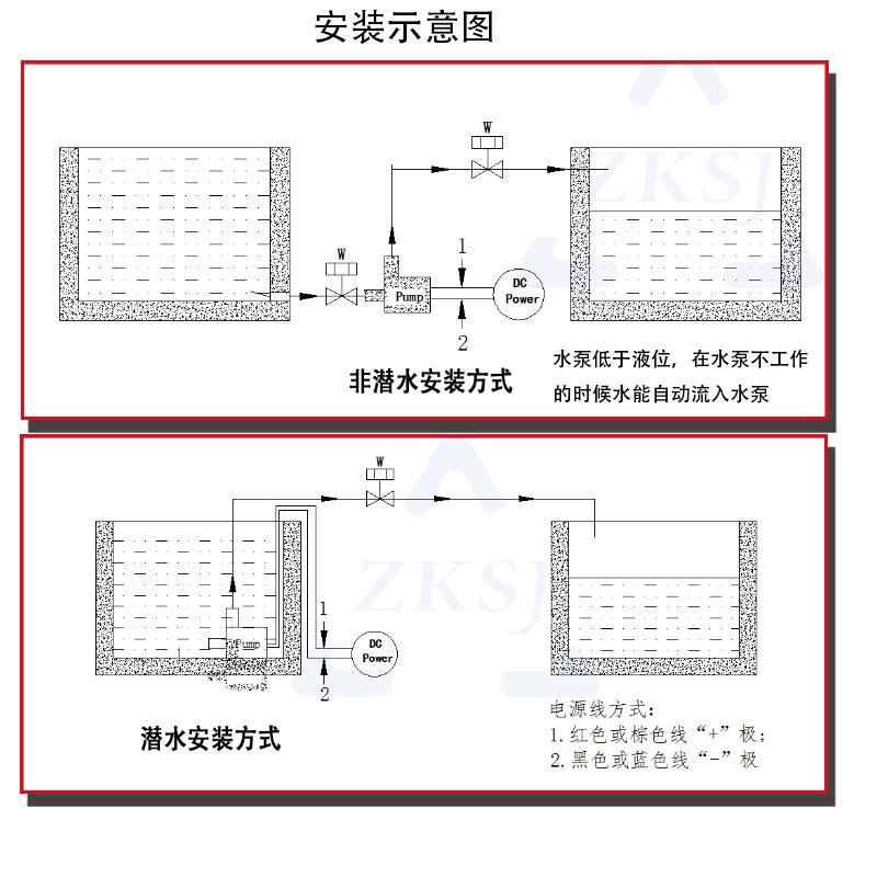 水暖床垫水泵 DC40H 扬程11M 5