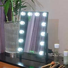 led方形灯泡镜金属款