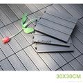 luxury WPC wood plastic composite vinyl plank decking outdoor flooring tiles 1