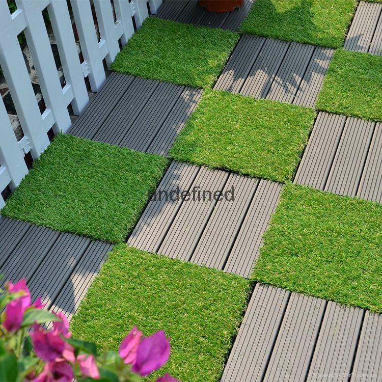 luxury WPC wood plastic composite vinyl plank decking outdoor flooring tiles 3