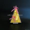 LED wooden christmas light