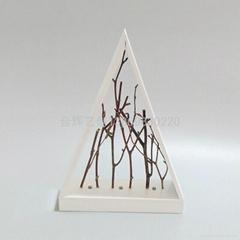田园风木制创意摆件