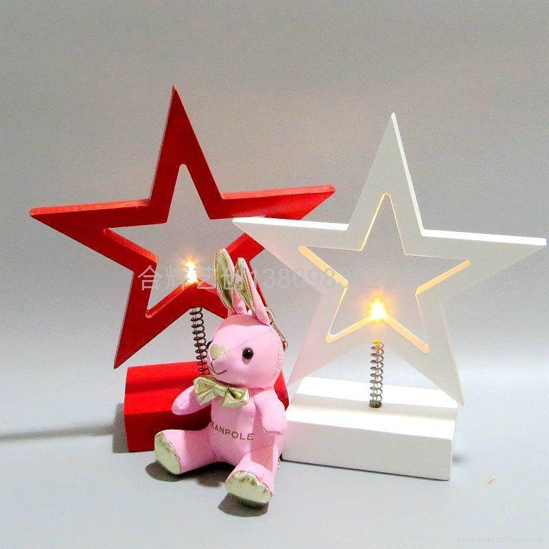 LED Star Heart light 3