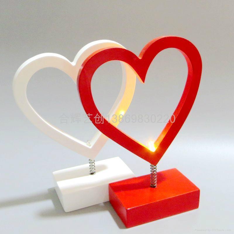 LED Star Heart light 4