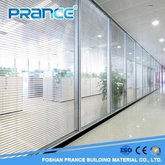 Sound insulated newest Office Building lobby Glass Partition