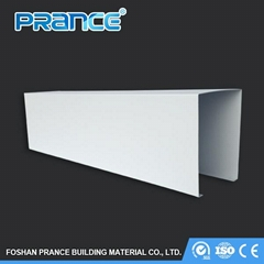 Large factory decorated square tube ceiling board