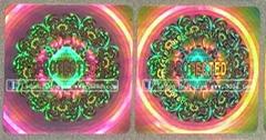 Hologram sticker/watermark/fluorescence Security sticker